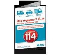 Dépliant - urgence114