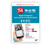 Affiche - urgence114