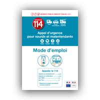 Mode d'emploi - urgence114