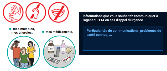 Mes informations importantes